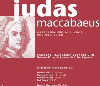 """""""Judas Maccabaeus"""" in der Liebfrauenkirche Recklinghausen"""